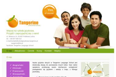 Tangerine Language School - Lekcje Angielskiego Podkowa Leśna
