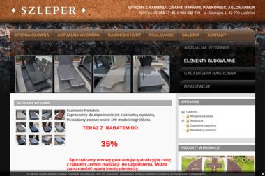 """F.U.H.P. """"SZLEPER"""" - Blaty kamienne Lubliniec"""