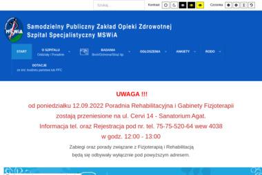 Samodzielny Publiczny Zakład Opieki Zdrowotnej Szpital Specjalistyczny MSW - Psycholog Jelenia Góra