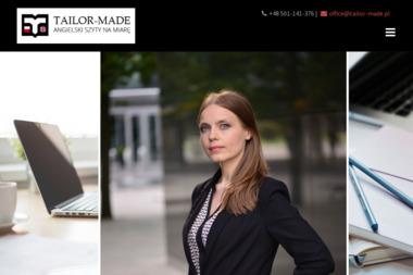 Tailor Made Marlena Wojewoda - Nauczyciel Angielskiego Serock