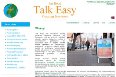 Talk Easy - Nauczyciele angielskiego Tarnobrzeg