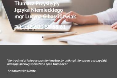 Tłumacz Przysięgły Języka Niemieckiego - Tłumacze Tczew