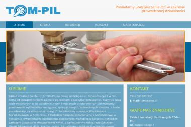 Zakład Instalacji Sanitarnych TOM-PIL - Instalacje grzewcze Piła