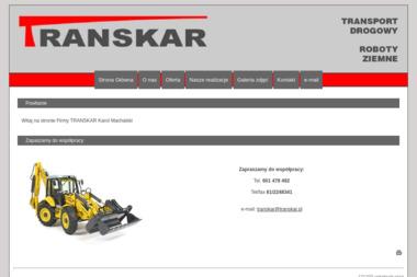 TRANSKAR - Firma Odśnieżająca Zawiercie