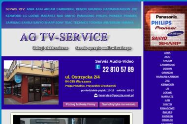 AG TV-SERVICE - Naprawa sprzętu audio Warszawa