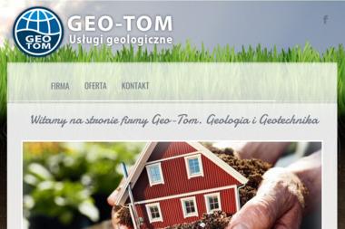 GEO-TOM Tomasz Cichoń - Geolog Rzeszów