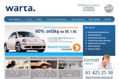 Agencja Ubezpieczeniowa TUiR Warta S.A. Piotr Formański - Ubezpieczenia Gniezno