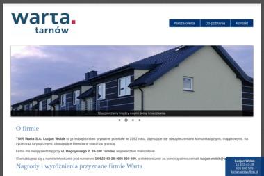 Warta Tarnów - Ubezpieczenie samochodu Tarnów