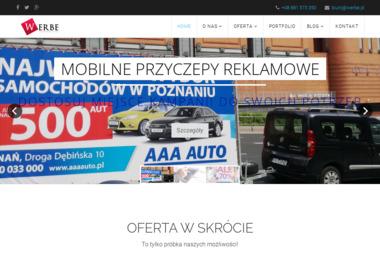 Werbe Michał Kierkowski - Naming Poznań