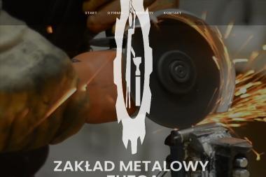 """Zakład Metalowy """"ZUZGA"""" - Obróbka metali Mrągowo"""
