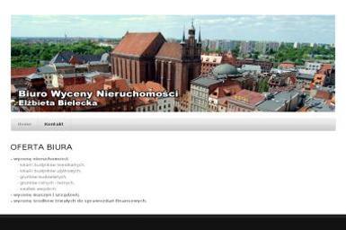 Bielecka Elżbieta Biuro Wyceny Nieruchomości - Sprzedaż Mieszkań Toruń