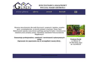Wycena Nieruchomości Grażyna Kurek - Agencja Nieruchomości Nowy Sącz