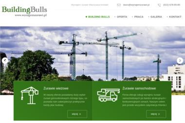 Building Bulls Tadeusz Łuniewski - Wypożyczalnia Koparek Warszawa