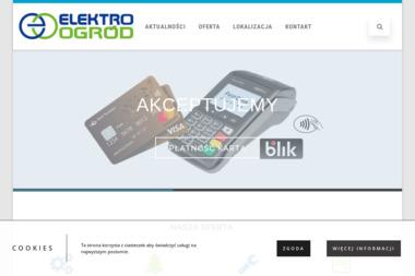 Elektro-Ogród Michał Klimek - Maszyny budowlane Zopowy