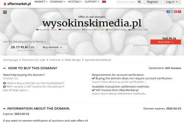 Wysokiński Media / Tv Passion - Kamerzysta Łuków
