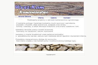 Wysz Kam Kamieniarstwo Jakub Wyszyński - Płytkarz Dobiegniew