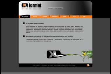 Xl Format Jacek Biegajło - Usługi Reklamowe Gdańsk