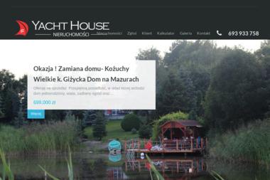 Mateusz Caban Biuro Obrotu Nieruchomościami Yacht House - Agencja nieruchomości Giżycko