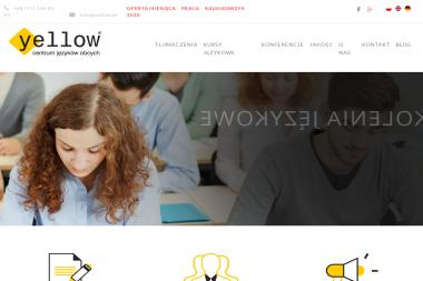 Yellow Centrum Języków Obcych Sp. z o.o. - Kurs niemieckiego Wrocław