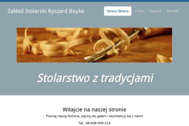 Zakład Stolarski Ryszard Boyke. Schody, zabudowy - Stolarz Wejherowo