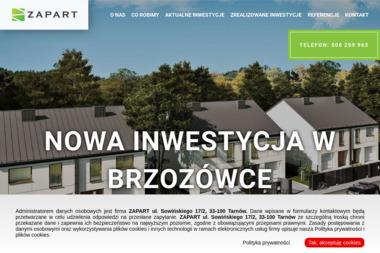 ZAPART Łukasz Zapała - Budowa Domów Tarnów