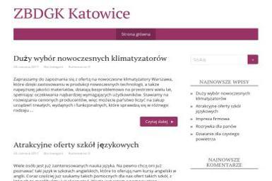 Zakład Badawczo-Doświadczalny Gospodarki Komunalnej. - Wywóz Papy Katowice