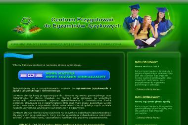 Centrum Przygotowań do Egzaminów Językowych - Kurs niemieckiego Tarnowskie Góry