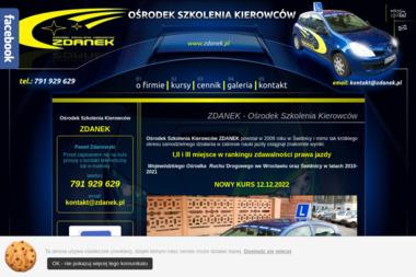 Ośrodek Szkolenia Kierowców Zdanek Paweł Zdanowski - Szkoła Jazdy Świdnica