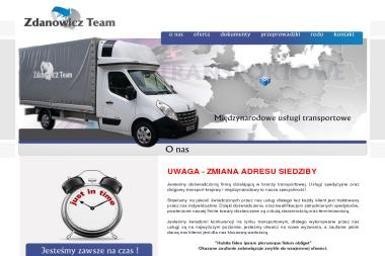 Zdanowicz Team Patryk Hassa - Transport Świebodzin
