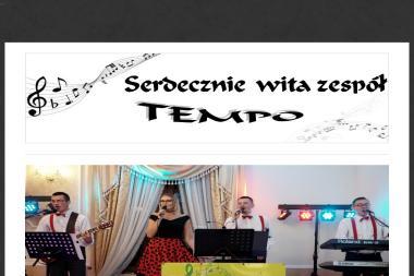 Zespó艂 Muzyczny Tempo. Oprawa Imprez Okoliczno艣ciowych - Zespó艂 muzyczny Ko艂o