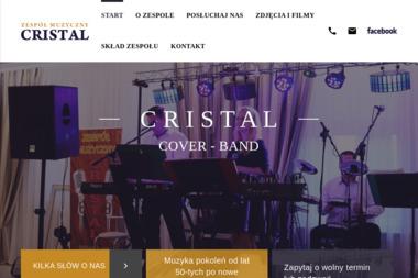 Zespó艂 Muzyczny Cristal - Zespó艂 muzyczny Siedlce