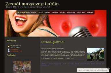 Zespół Muzyczny Demo. Zespół muzyczny - Zespół muzyczny Lublin