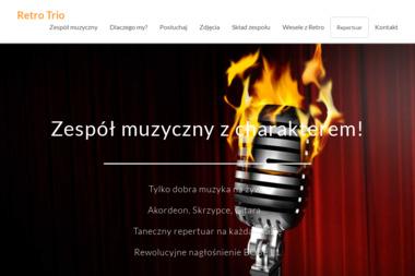 Retro Trio. Zespół muzyczny na wesele - Zespół muzyczny Toruń