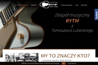 Zespół Rytm. Zespół muzyczny - Zespół muzyczny Tomaszów Lubelski