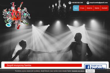 Zespół Muzyczny Samba. Zespół muzyczny, wesele - Zespół muzyczny Kędzierzyn-Koźle