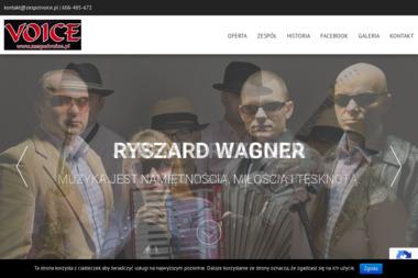 Piotr Pliszczak-Zespół Muzyczny Voice. Zespół, zespół muzyczny - Zespół muzyczny Głogówek