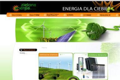 Zielona Energia. Kolektory słoneczne, zielona energia - Kolektory słoneczne Szczucin