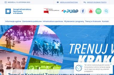 Zarząd Infrastruktury Sportowej w Krakowie - Szkoła Jazdy Kraków