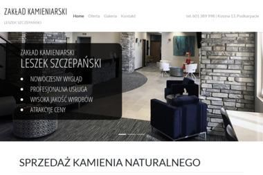 Zakład Kamieniarski - Leszek Szczepański - Nagrobki Kosina