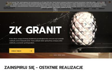 Zakład Kamieniarski Granit Sp. z o.o. - Blaty kamienne Czarnków