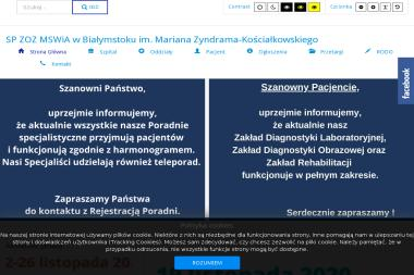 Zakład Opieki Zdrowotnej MSWiA - Psycholog Białystok