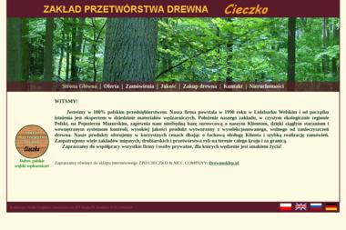 ZPD Cieczko. Zakład Produkcyjny - Tartak Lidzbark