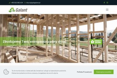 Zakład Produkcyjno Handlowy GALANT - Domy z bali Dąbrowa