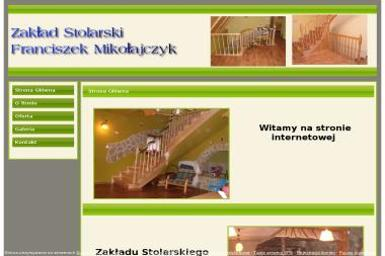 Zakład Stolarski. Franciszek Mikołajczyk - Schody Limanowa