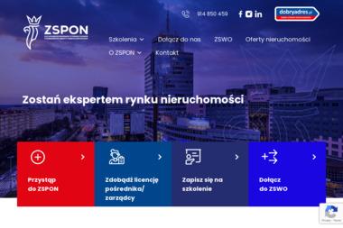 Zachodniopomorskie Stowarzyszenie Pośredników Obrotu Nieruchomościami - Agencja nieruchomości Szczecin