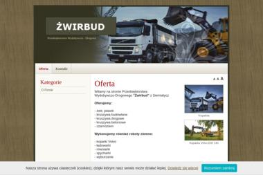 Przedsiębiorstwo Wydobywczo-Drogowe Żwirbud - Roboty ziemne Siemiatycze