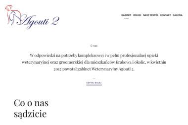 Małgorzata Boroń Gabinet Weterynaryjny Agouti 2 - Weterynarz Kraków