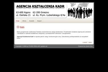 Agencja Kształcenia Kadr - Obróbka metali Kępno