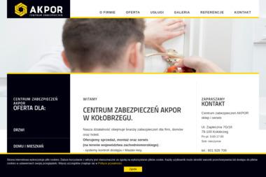 CENTUM ZABEZPIECZEŃ AKPOR - Okna aluminiowe Kołobrzeg