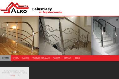 Przedsiębiorstwo Produkcyjno-Usługowo-Handlowe Alko - Schody drewniane Częstochowa
